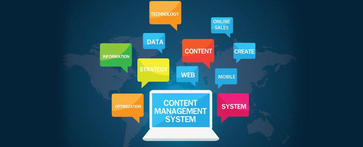 Content Management System Header